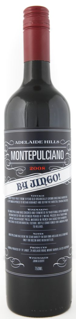 Adelaide Hills Montepulciano from By Jingo