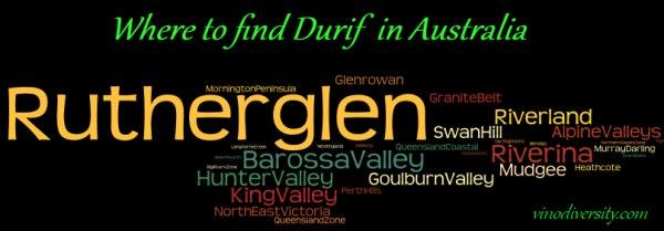 Durif wine in Australian wine Regions