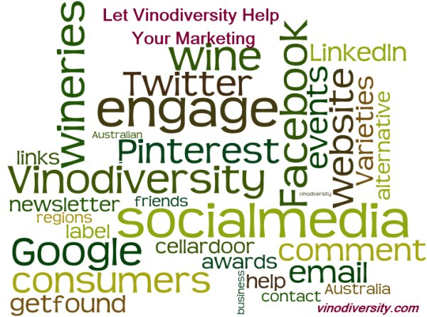 Help for marketing wine
