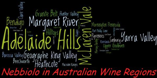 Nebbiolo in Australian wine regions