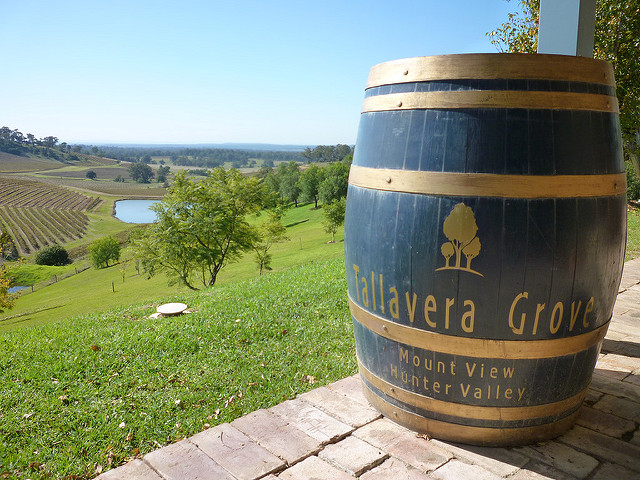 Tallavera Grove winery in the Hunter Valley makes wine from a range of alternative varieties