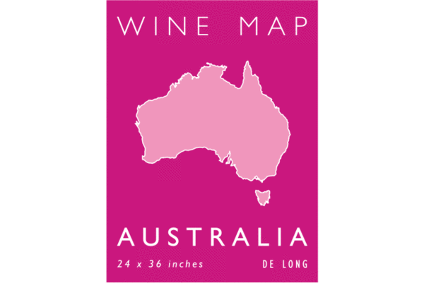 Wine Map of Australia by De Long