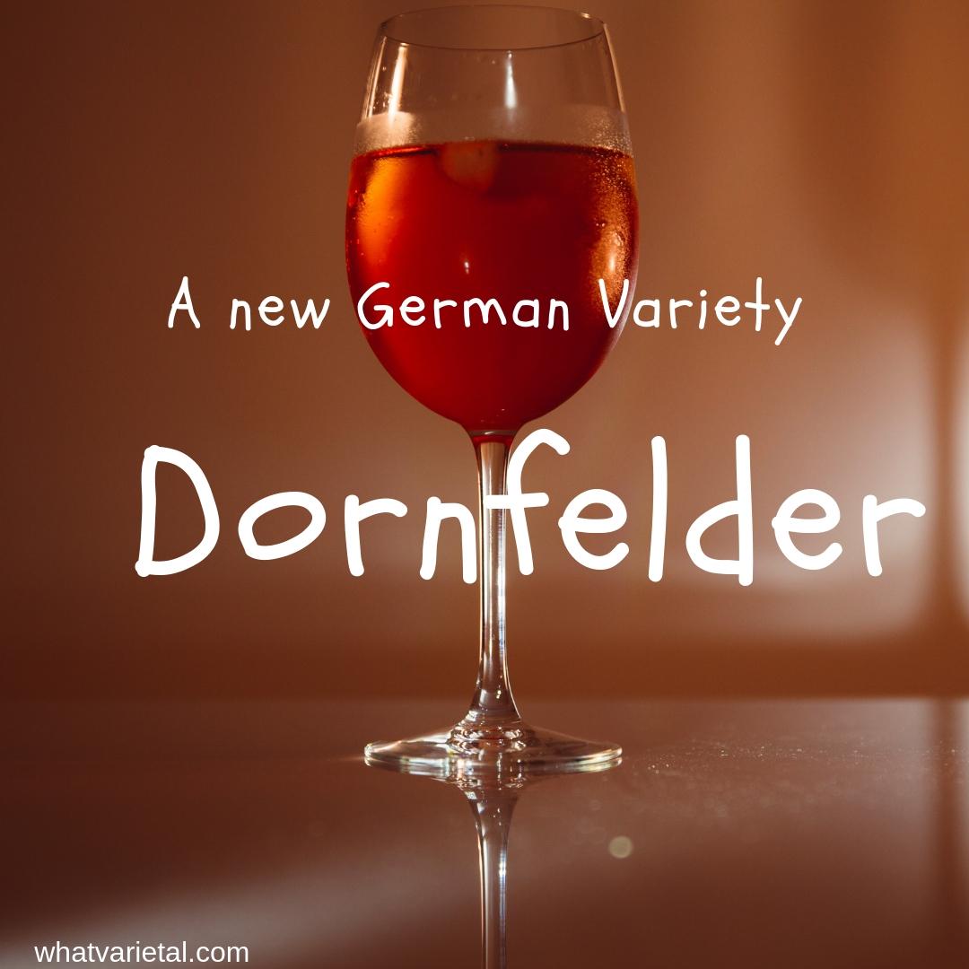 Dornfelder red wine variety in Australia