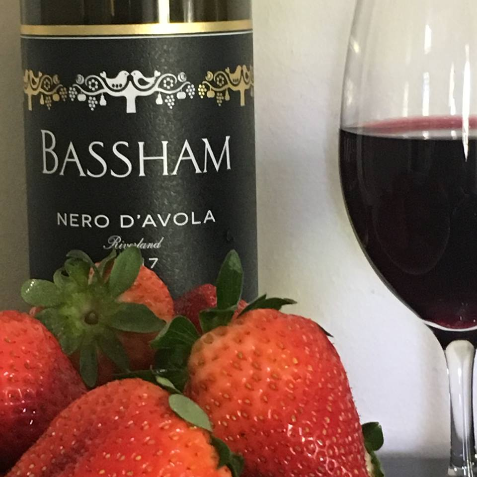 Nero d'Avola thrives in the Riverland