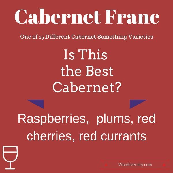 Cabernet franc red wine variety