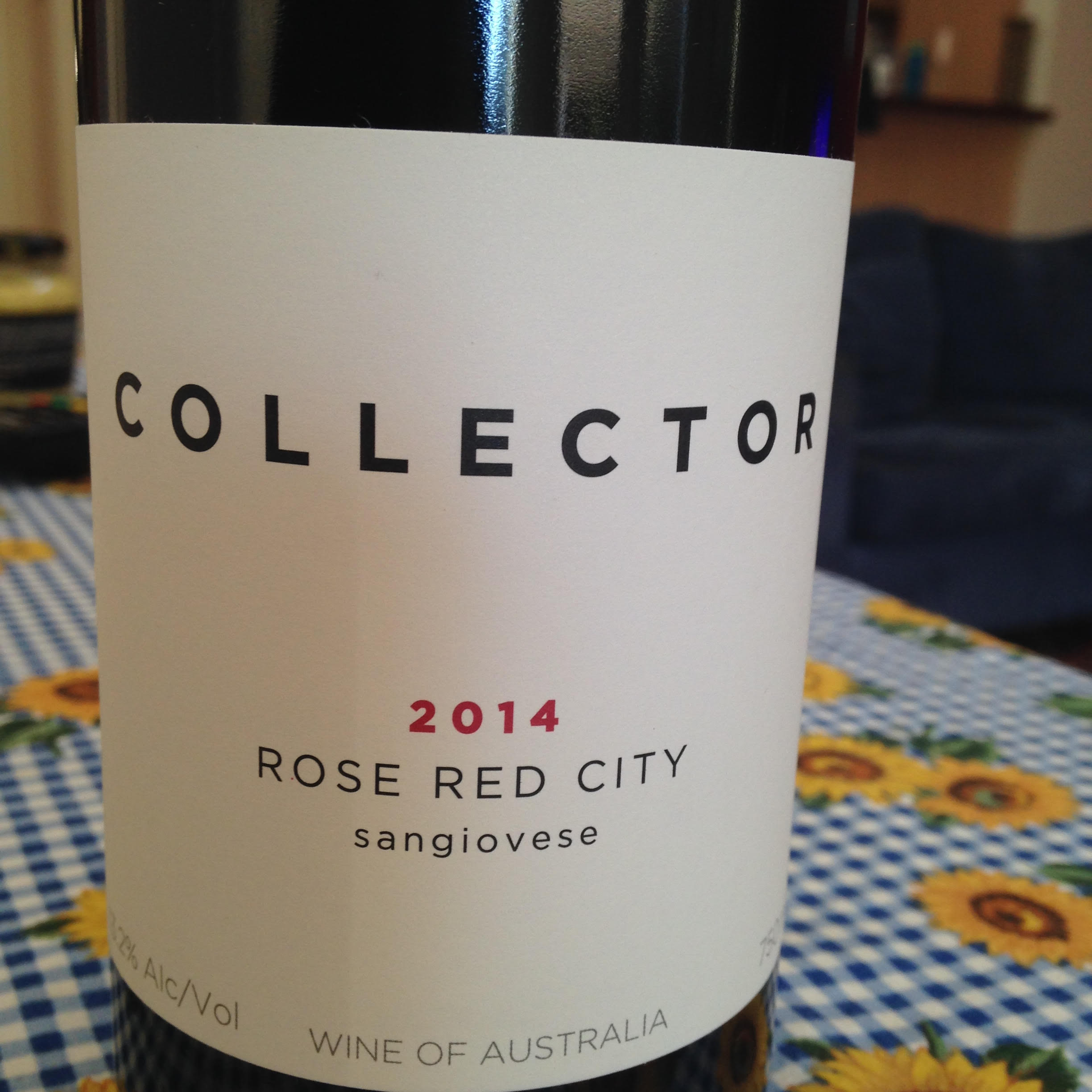 Collector Rose Red Sangiovese