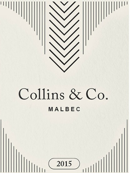 Label of Malbec made by Collins and Co.