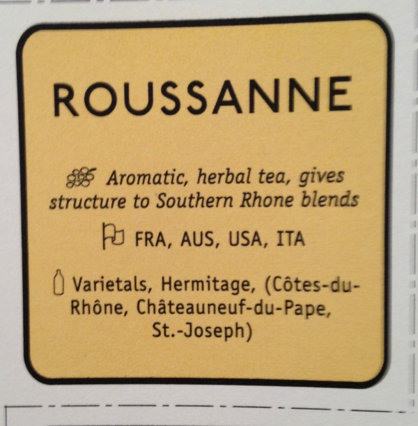 Roussanne grape variety described