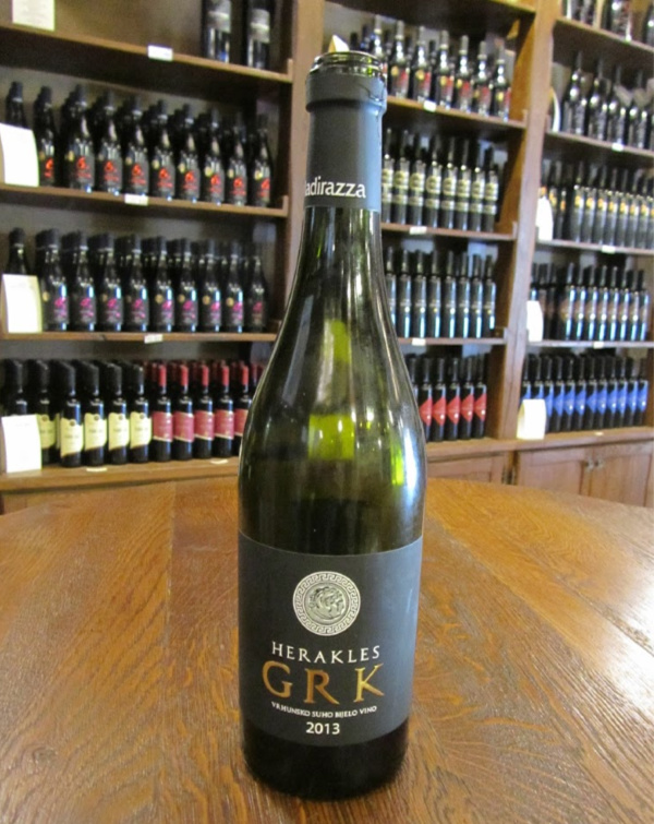 GrK white wine variety, part of Darby's Wine century collection.