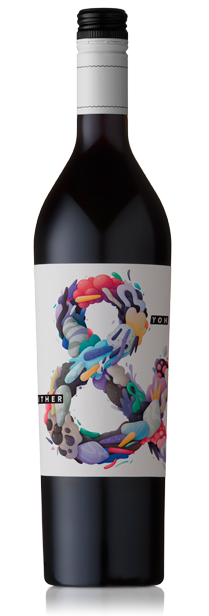 Innovative label design, innovative wine. Hither and Yon McLaren Vale
