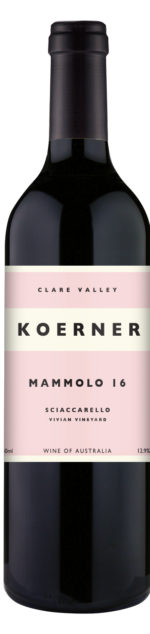 Koener Mammolo from the Clare Valley Wine Region of South Australia