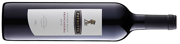 Patritti's Trincadeira dry red wine from the Barossa Valley