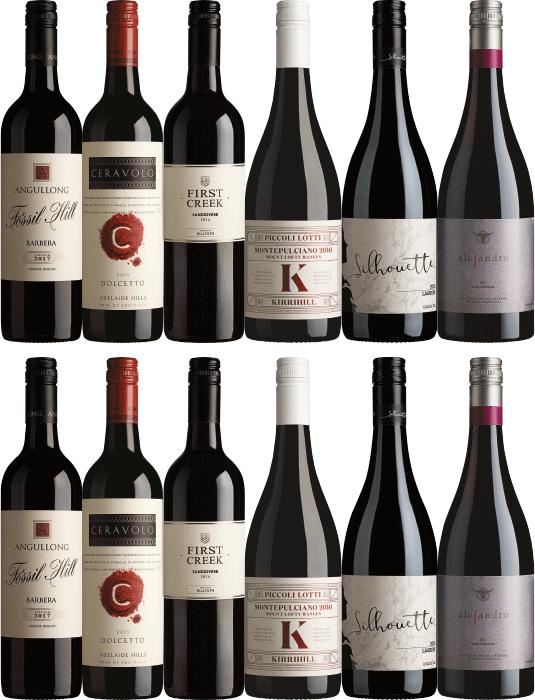 Australian red wine special made with Italian Varietals dozen