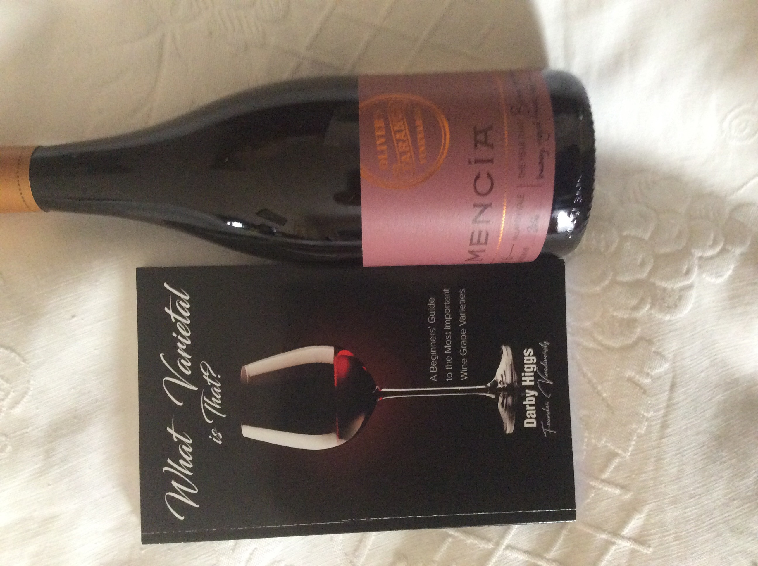 Mencia wine with What Varietal is That Book