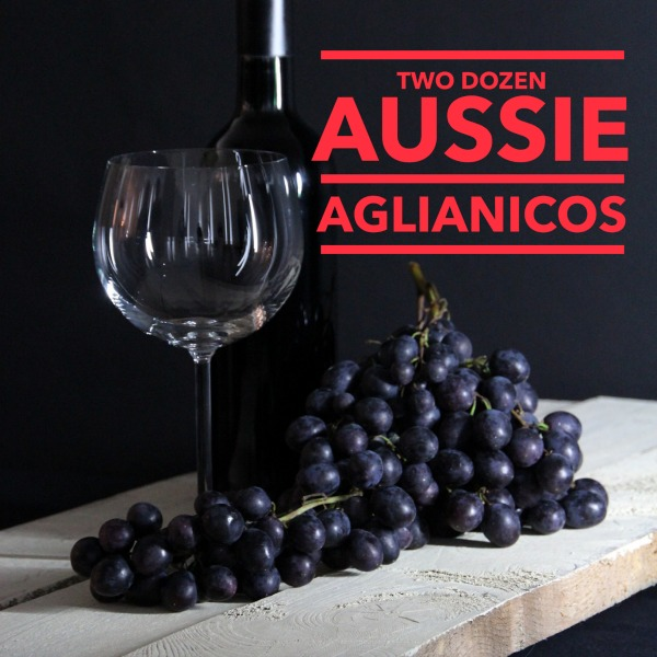 Aglianico red wine variety in Australia