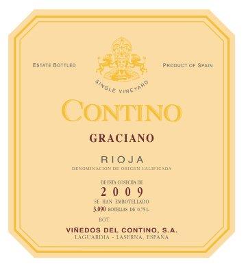 A varietal Graciano from the Rioja region of Spain