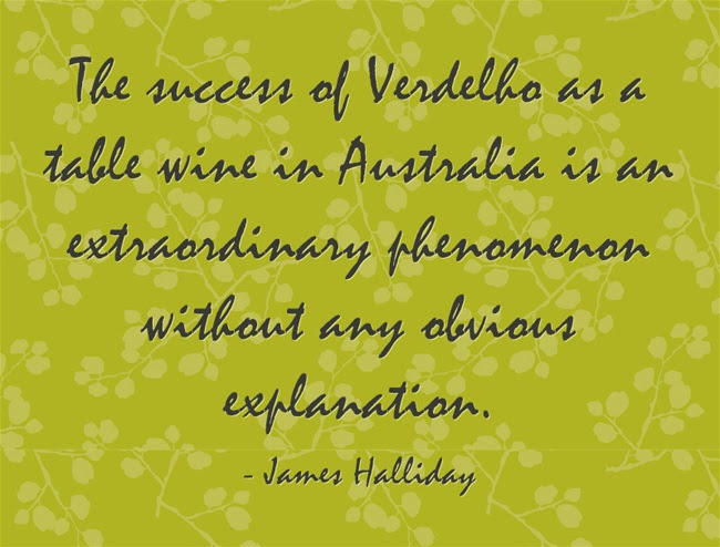 Verdelho as a white wine variety in Australia