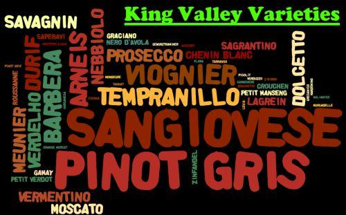king valley grape varieties