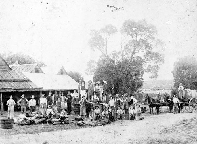 Best's winery. Great Western 1880s.