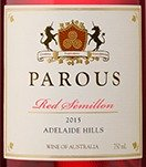 Red Semillon by Parous Wines in the Adelaide Hills.